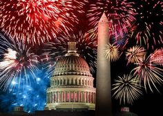 """Today, we celebrate the independence of our beautiful country by spending time with our loved ones and enjoying the great, summer weather. """"Repin"""" this if you can't wait for fireworks tonight!"""