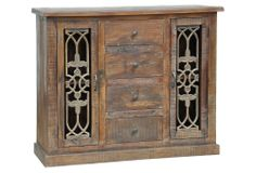 One Kings Lane - The Autumnal Home - Sonia 4-Drawer Cabinet