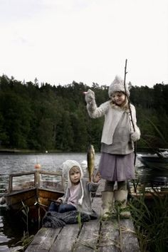 """swedish kids :) someone said once """"if you feed a man with the fish you gave him food for one day, but, if you teach man for fishing you'll give him food for whole life"""" ;)"""