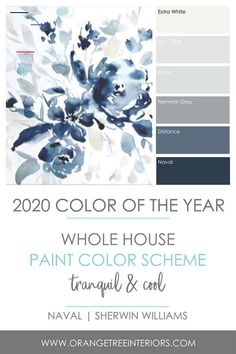 2020 Colour of the Year! + The Best Paint Finishes for Your Home 2020 Colour of the Year! + The Best Paint Finishes for Your Home – Orangetree Interiors Interior Paint Colors, Paint Colors For Home, Paint Colors For Living Room, Paints For Home, Dinning Room Paint Ideas, Paint Colours For Bedrooms, Interior Painting Ideas, Home Paint Colors, Interior Paint Palettes