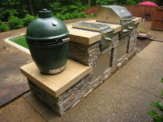 Built In Outdoor Grill And Smoker Designs Outdoor Kitchen Islands