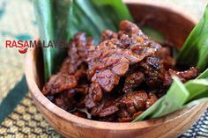Daging Masak Kicap (Soy Sauce Beef): It takes only a few ingredients—a tender cut of beef, soy sauce, and sweet soy sauce. I use shallots as an aromatic but onion is equally fine. #beef #malaysian