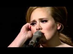 """another amazing performance by Adele """"Someone Like You"""""""