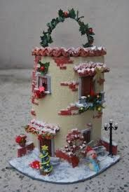 Resultado de imagen para tejas decoradas navideñas