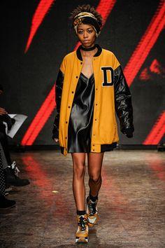 DKNY Fall 2014 #nyfw