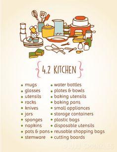 Organização Marie Kondo: 4.2. Cozinha