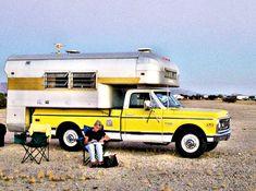 Old Pickup Trucks for Sale   Classic Pickups: 1969 Chevy Longhorn Silver Streak Custom Camper