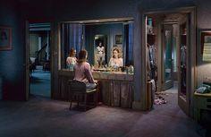 Questa è una scena che ho immaginato ancor prima di vedere il lavoro di Crewdson, che è un fotografo in cui mi sono imbattuta casualmente