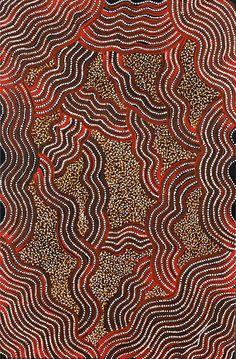 Jeannie Petyarre ~ Yam Seed Dreaming, 1997