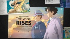 2014 The Oscars 86th ANIMATED FEATURE FILM The Wind Rises 風起
