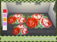 Sims 4 Flower Rugs