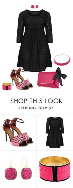 """""""It's the shoes- plus size"""" by gchamama ❤ liked on Polyvore featuring Malone Souliers, Lanvin, Boris, Liz Claiborne, Emilio Pucci and Alexa Starr"""