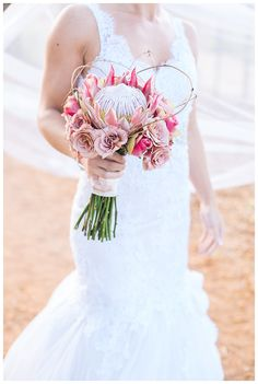 Beautiful wedding bouquet!  Photo by Charl vd Merwe Photography