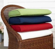Indoor Outdoor Rocking Chair Cushions Fits Cracker