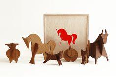 Wood Animals by uusi