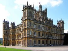 Highclare Castle featured on Downton Abbey