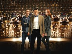 doctor who | JOHN PETERS: Back With A Bang: Doctor Who Returns!
