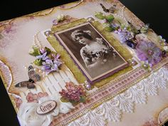 life as a scrapper: VINTAGE STYLE PAGE PION DESIGN