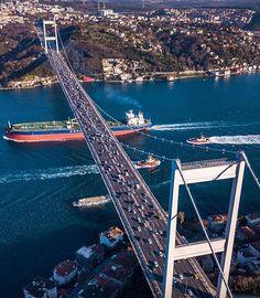 Istanbul City, Istanbul Travel, Istanbul Turkey, Bosphorus Bridge, Turkey Country, Hagia Sophia, All Nature, Turkey Travel, Dream City