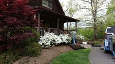 Seasonal color by Brown Landscaping & Construction, Inc.