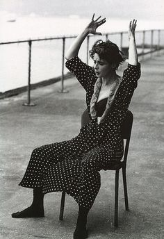 Isabelle Rossellini for Dolce & Gabbana: Fall/Winter Collection 1989-1990 shot by Steven Meisel