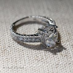 Vintage Engagement Ring from MiaDonna