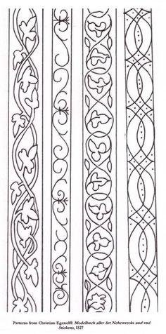 Blackwork motifs