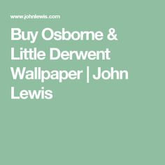 Buy Graphite, Osborne & Little Derwent Wallpaper from our Wallpaper range at John Lewis & Partners. Cumbria, Accessories Shop, John Lewis, Thoughts, Wallpaper, Stuff To Buy, Amp, Bathroom, Washroom