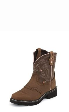 Unisex Kid's JUSTIN BOOTS BAY APACHE 9965JR Justin Boots. $59.99