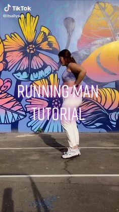 Belly Dance Lessons, Dance Tips, Dance Workout Videos, Dance Videos, Running Man Dance, How To Shuffle Dance, Simple Dance, Cool Dance Moves, Hip Hop Dance