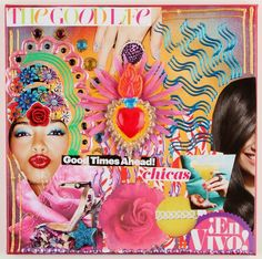 Pop Art Collage Canvas w/Crazy Tips!
