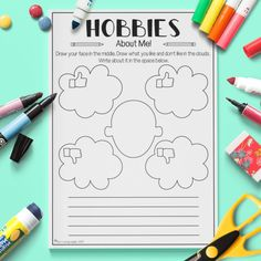 English ESL Kids Hobbies About Me Activity Worksheet Hobbies For Adults, Hobbies For Couples, Cheap Hobbies, Hobbies For Women, Hobbies And Interests, Fun Hobbies, Hobbies And Crafts, Men Crafts, Hobbies Creative