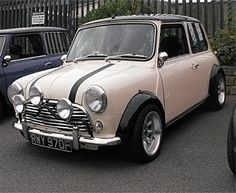 .Old English White Austin Mini, 1275 injection - Huddersfield Spares Limited