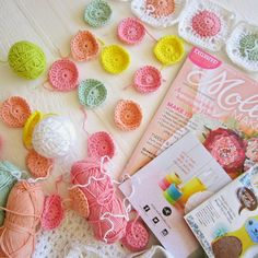 Color 'n Cream Crochet and Dream: Sunny Crochet And Lovely Inspiration