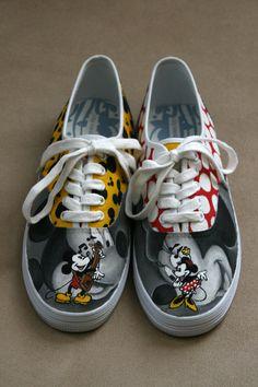 Mickey et Minnie by RubberDuckyTai
