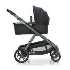 Joovy - poussette qool - gris melange Double Baby Strollers, Bassinet, Children, Water, Black, Products, Three Kids, Baby Newborn, Young Children