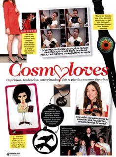 La Gran en Cosmopolitan,  Septiembre 2011