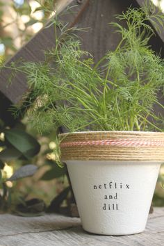 Netflix and Dill by PlantPuns on Etsy