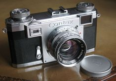 Contax IIa camera from 1950's