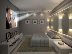 divine design candice olson no TV in bedroom. Modern Luxury Bedroom, Luxury Bedroom Design, Bedroom Closet Design, Stylish Bedroom, Master Bedroom Design, Luxurious Bedrooms, Bedroom Tv Wall, Home Decor Bedroom, Bedroom With Tv