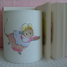 Beatrix Potter Mrs Titlemouse Embroidered Handmade by EvieEccles