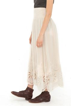 The Tea Length Opera Skirt.