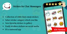 Stickers for Chat Messengers iOS Version - https://codeholder.net/item/mobile/stickers-chat-messengers-ios-version
