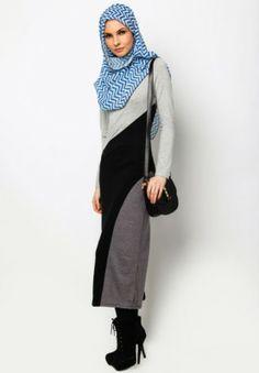 Maxi Dress #muslimah fashion