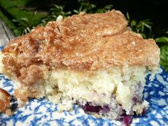 Blueberry Muffin Breakfast cake - Everyday Dutch Oven