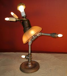 recycle lamp...... I am a dancer