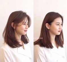 • 3) Hair만으로도 다른사람이~? 헤어스타일 전/후 : 네이버 블로그 Korean Long Hair, Korean Hair Color, Asian Short Hair, Korean Medium Hair, Hair Cuts Asian, Short Hair Korean Style, Kpop Short Hair, Kpop Hair, Medium Hair Cuts