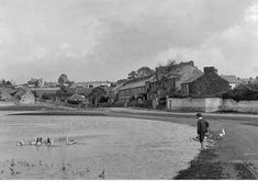Great, old view of The Lough before it was enclosed by the kerbing.