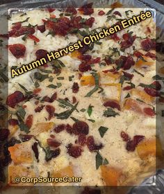 autumn harvest chicken catering fall food4Fall is coming, and everywhere you look, tempting pumpkin, squash and other Autumn favorites remind you of harvest time!