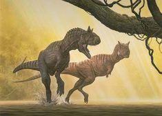 Carnotaurus - Raúl Martín
